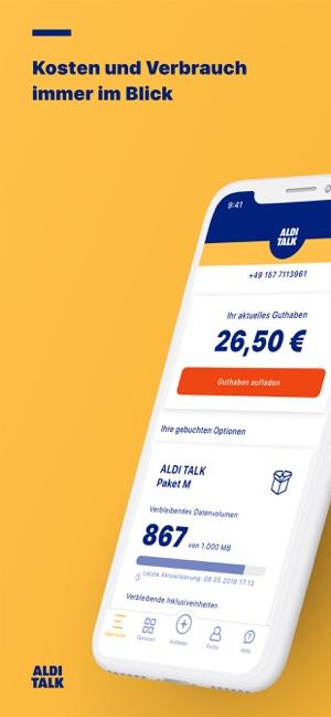 Aldi Talk Sim Kartennummer.Aldi Talk Im App Store