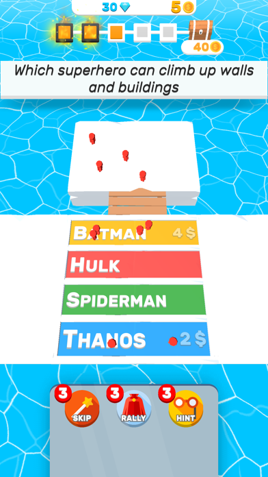 Screenshot of Trivia.io App