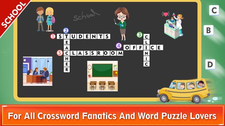 Easy Crossword Puzzles Fun screenshot-6