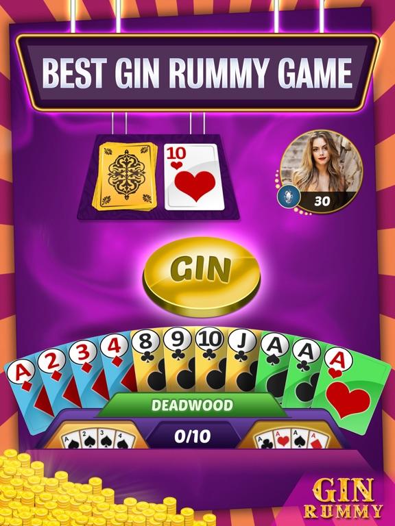 Gin Rummy Multiplayer screenshot