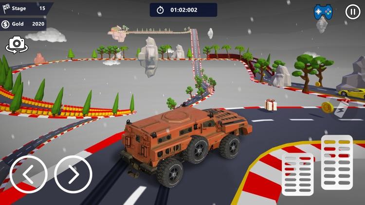 Car Stunts 3D - Sky Parkour screenshot-3