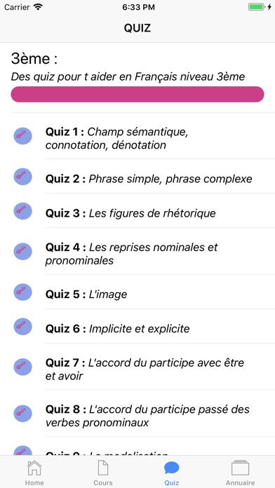 Français 3ème screenshot 4