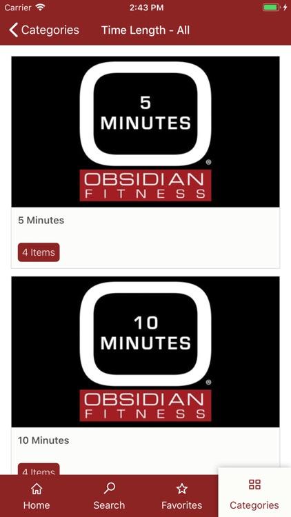 Obsidian Fitness On Demand screenshot-6