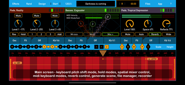 ‎SynthScaper Screenshot