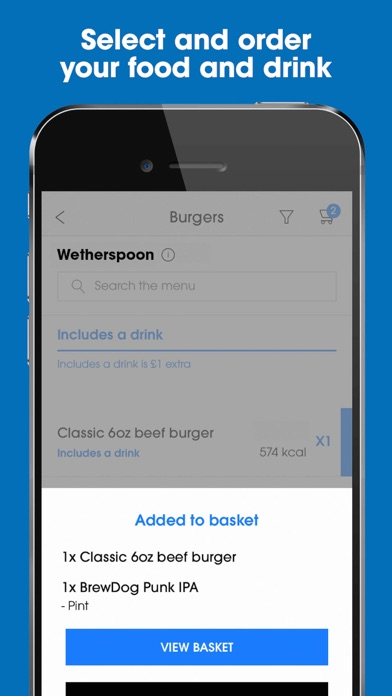 Screenshot for Wetherspoon in Dominican Republic App Store