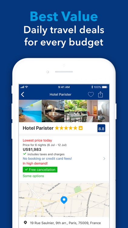 Booking.com: Hotels & Travel screenshot-9
