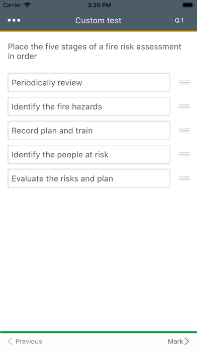 Screenshot for CITB MAP HS&E test 2019 in United States App Store