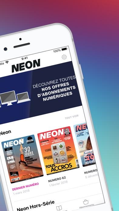 NEON le magazine screenshot two