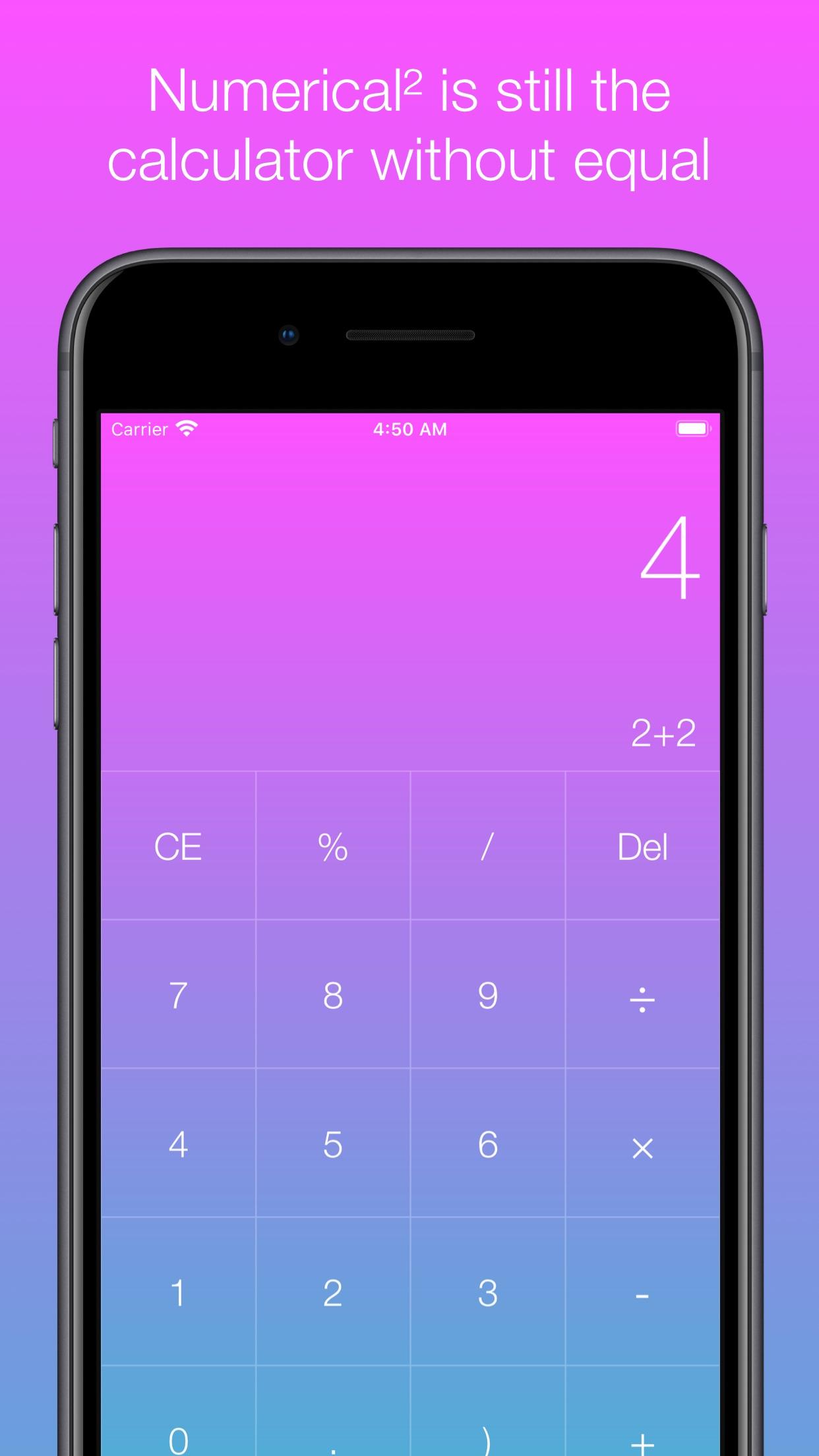 Screenshot do app Numerical²