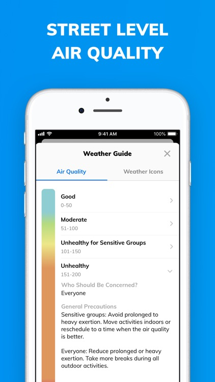 Climacell: Weather Assistant screenshot-5