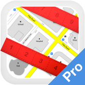 Planimeter Pro - Measure path and land area on map icon