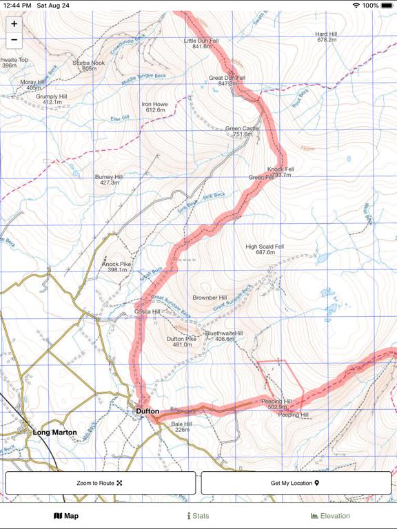 Pennine Way Map screenshot 7