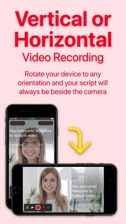 Video Teleprompter Lite screenshot-5