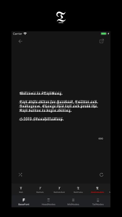 Text Gang - Text Style Editorのおすすめ画像2