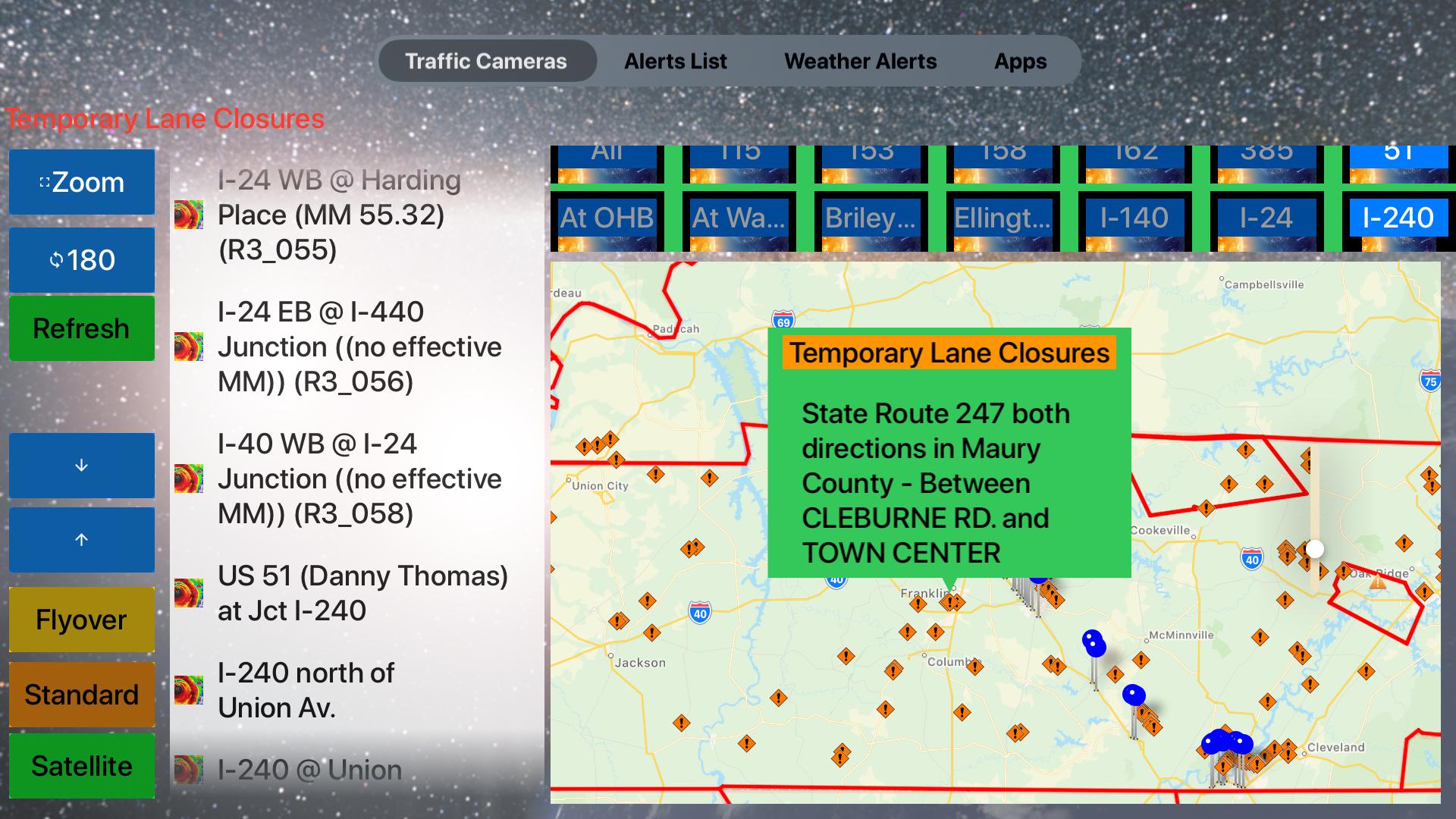 Traffic Cameras Tennessee Pro screenshot 25