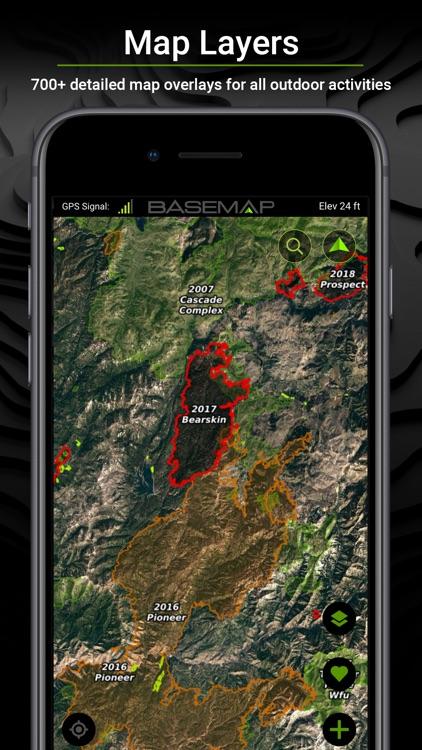 BaseMap: 3D Hunting GPS Maps screenshot-6
