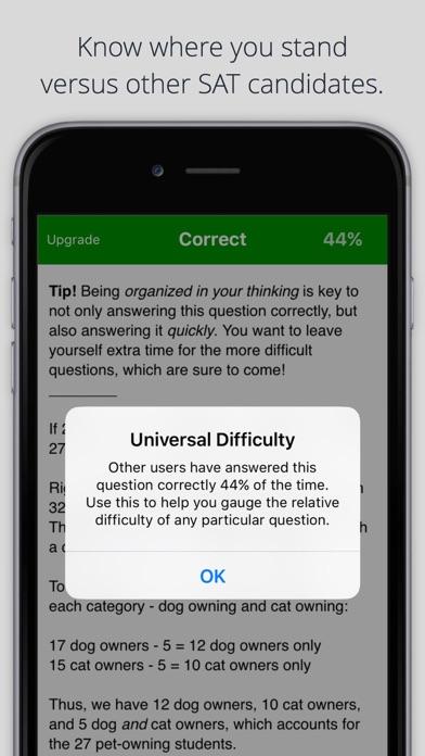 SAT English & Math TestBank app image