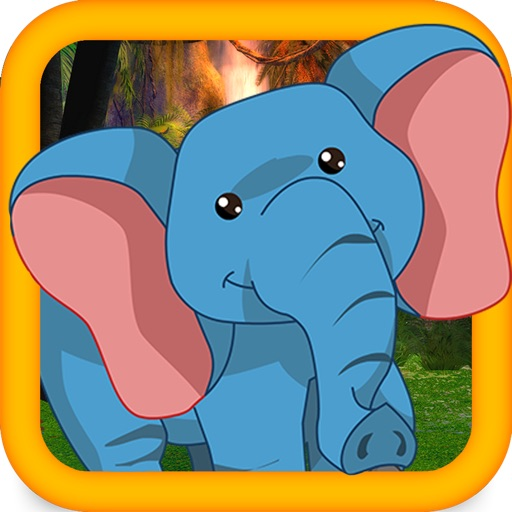 little Barney the Elephant zoo escape - Free running game iOS App