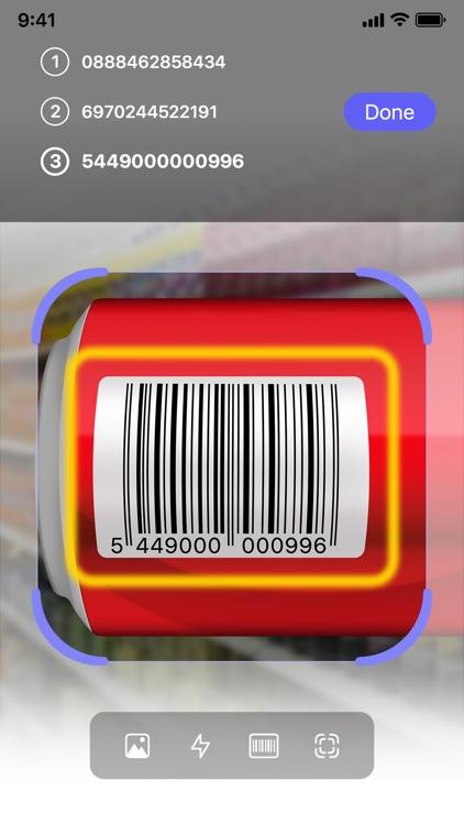 Barcode Scanner QR Code Reader screenshot-5