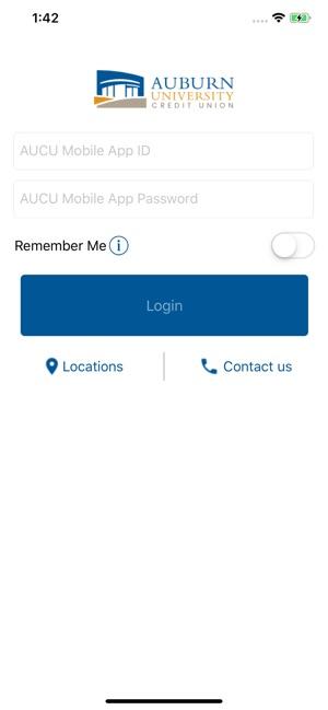 Auburn University Credit Union >> Aucu Mobile App On The App Store