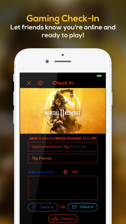 Cinetext: Check-In App