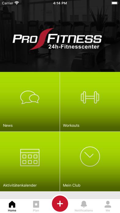 Pro-Fitness TrainingsappScreenshot von 1