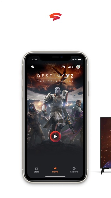 Google Stadia screenshot 1