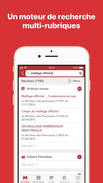 Le Moniteur des pharmacies.fr screenshot two