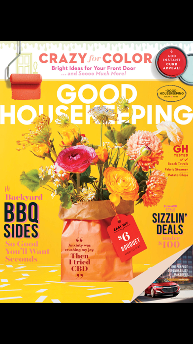 Good Housekeeping Magazine US Screenshot