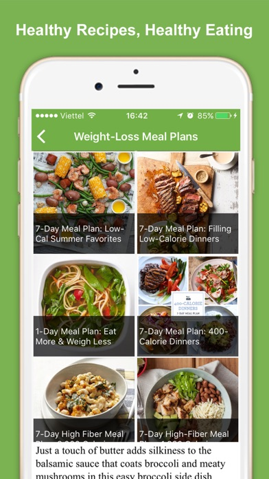 Healthy Eating Meal Plans screenshot three