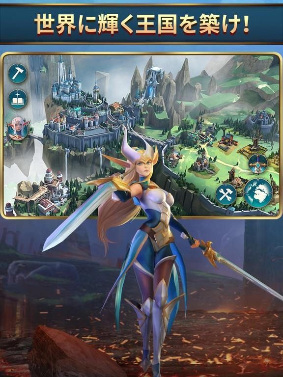 モバイルロワイヤル: バトル戦争RPGのおすすめ画像2