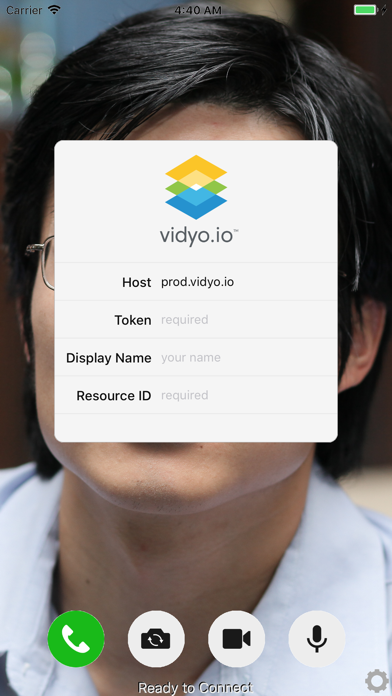 Vidyo.io ConnectorScreenshot of 2