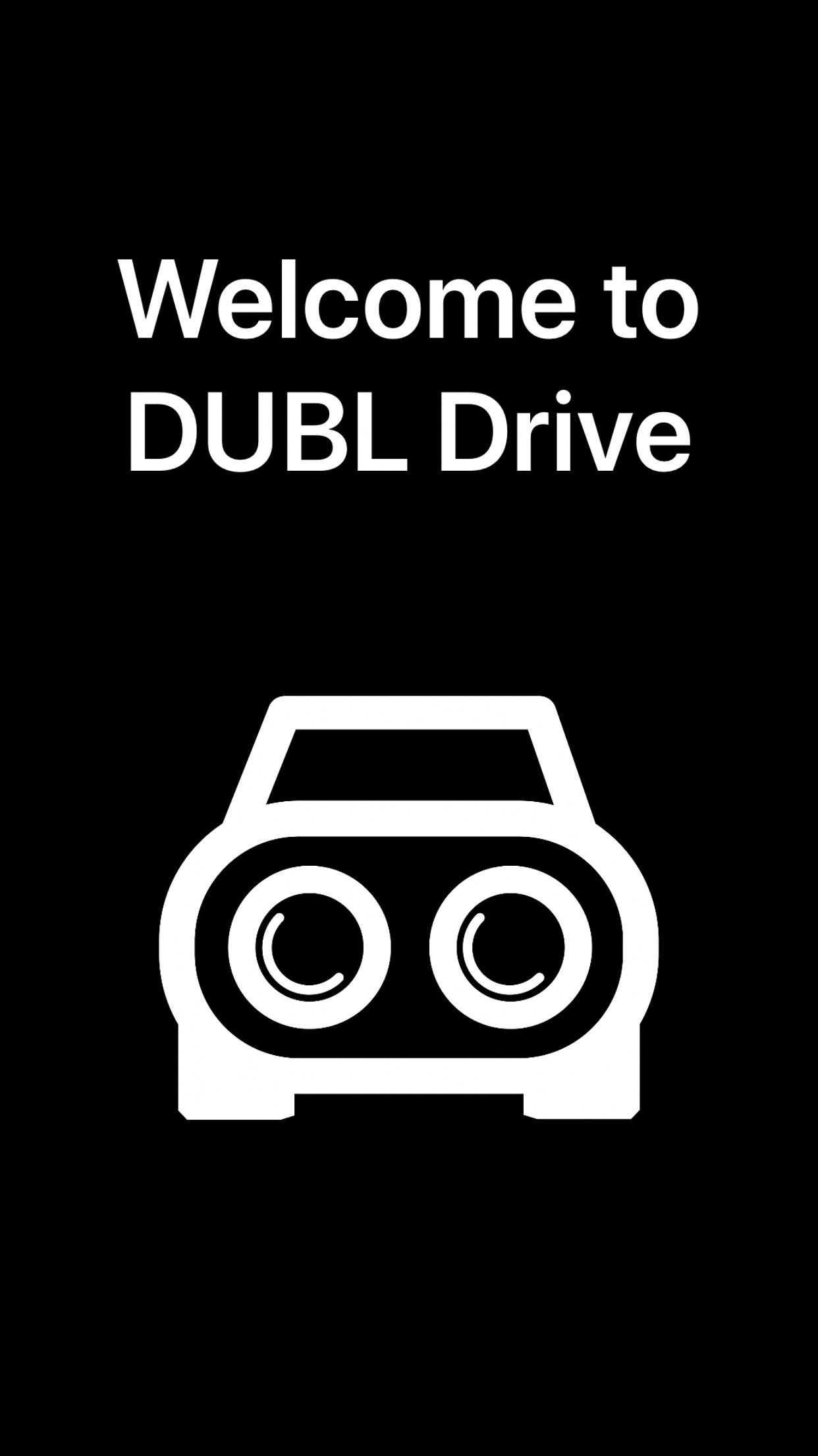 Screenshot do app DUBL Drive
