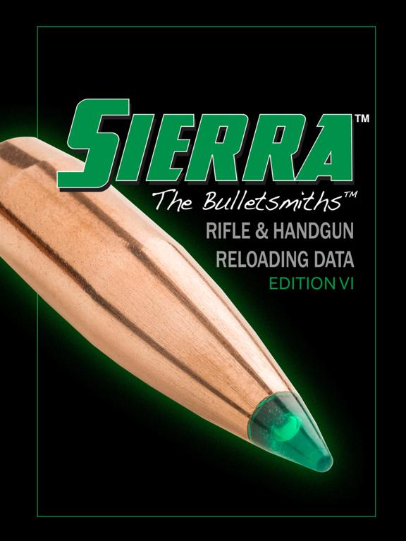 Sierra Reloading Manual v6 0 | App Price Drops