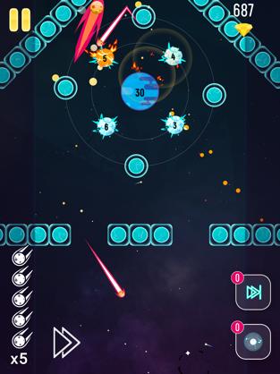 Big Bang Blast, game for IOS