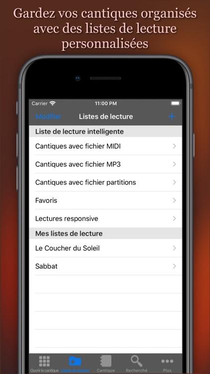 Recueil de Cantiques screenshot-4