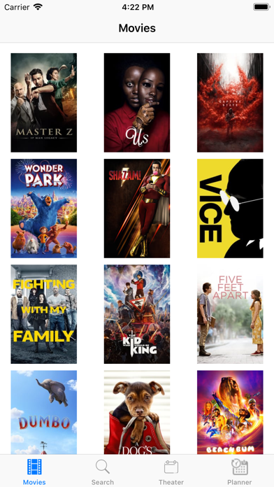 Coto Movies Anywhere TV Planer
