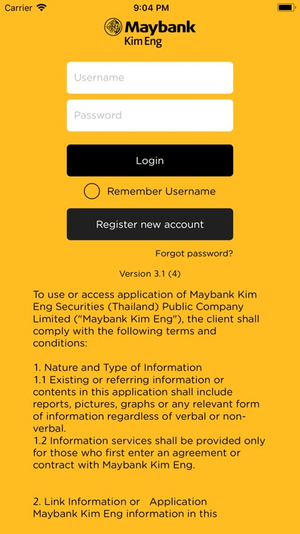 MKET Radars by Maybank Kim Eng Securities (Thailand) Public Limited Company
