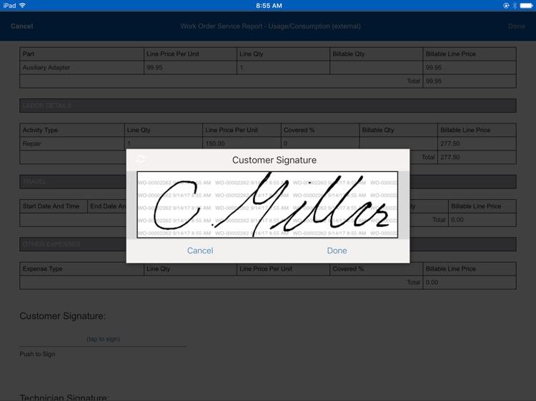 ServiceMax Field Service App screenshot-4