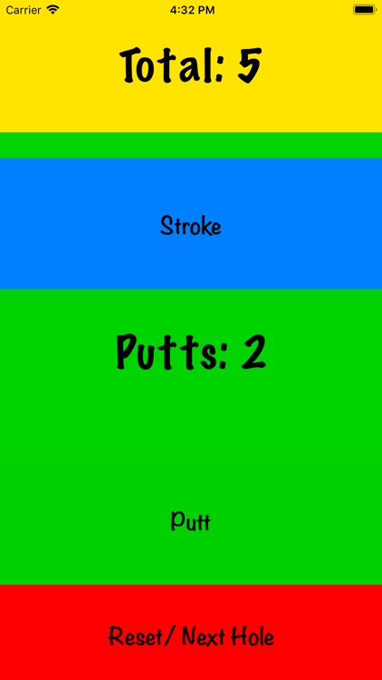 My Simple Golf Score screenshot-3