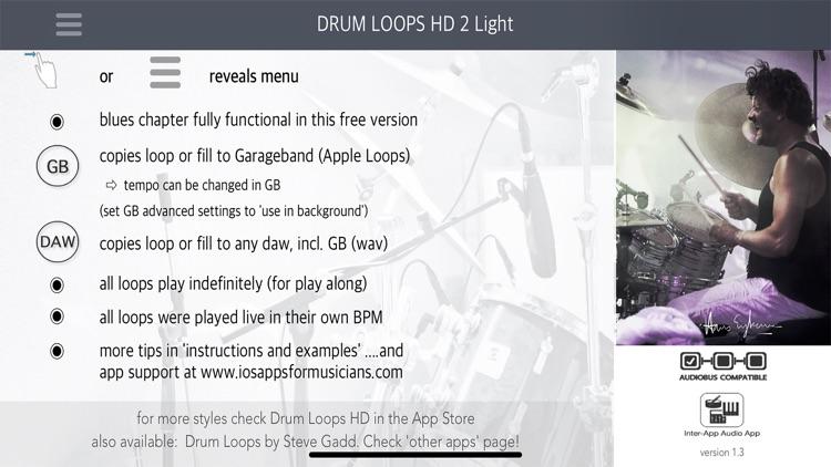 Drum Loops HD 2 Light screenshot-0