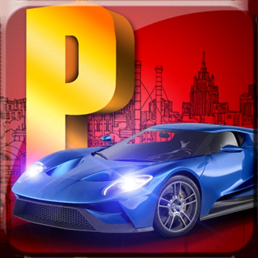 real coche aparcamiento juego