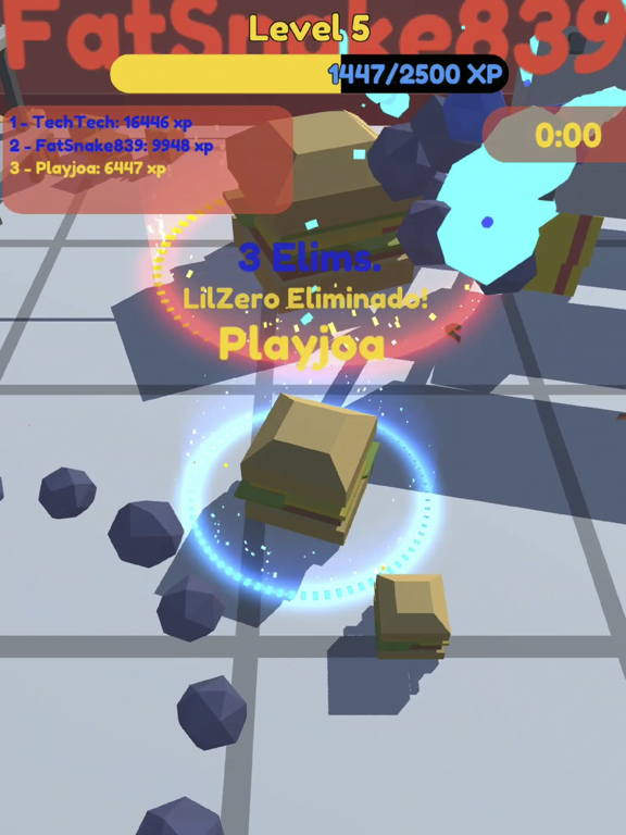 Food.io - Food Battle screenshot 2