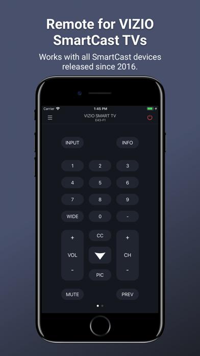 TV Remote for Vizio SmartCast by Kraftwerk 9 Inc (iOS