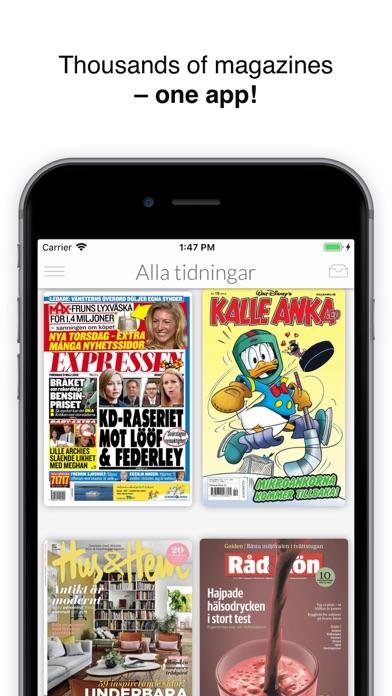 Ztory – Magazines & books screenshot one