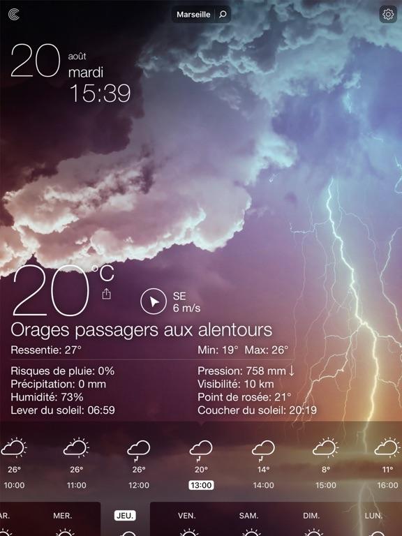 Screenshot #5 pour Météo Live: Prévisions Locales