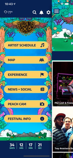 The Peach Music Festival on the App Store