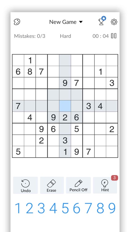 Sudoku - Brain Puzzle Games screenshot-4