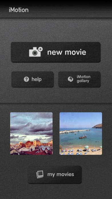 iMotion screenshot one