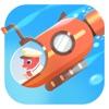 恐龙潜水艇 - 海洋探索儿童游戏